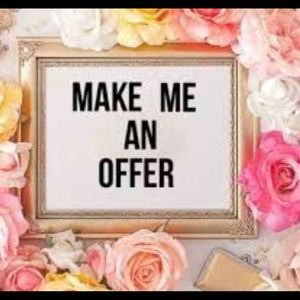 Make me an offer !!! Reasonable offers accepted ❤️